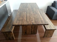 Dining Table by idobeFurniture on Etsy