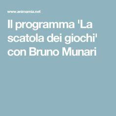 Il programma 'La scatola dei giochi' con Bruno Munari