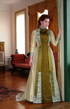 dff8c01bb4 Natural Form era Tea Gown beautifully made from TV432. Click through to see  the full