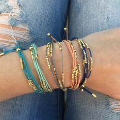 $5.99 | Pop of Color & Boho Bracelets | Shop for boutique jewelry deals on Jane.com