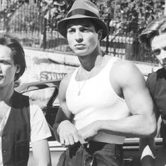 Benjamin Bratt, Jesse Borrego, and Damian Chapa in Bound by Honor Chicano Movies, Chicano Art, Chicano Tattoos, Jesse Borrego, Estilo Chola, Arte Cholo, Cholo Art, Latina, Benjamin Bratt