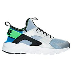 Nike Air Huarache Run Ultra Dark Grey Menta Green Trainer From the  appearance of the color is very beautiful. Is this style is a very good one.