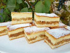 Jednoduchý jablkovo-pudingový koláč (fotorecept) - recept | Varecha.sk Tiramisu, Ethnic Recipes, Food, Basket, Essen, Meals, Tiramisu Cake, Yemek, Eten