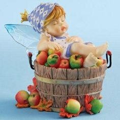 Fairies Figurines And Thanksgiving | Of Apples Figurine-4008300-My Little Kitchen Fairies-Kitchen Fairies ...