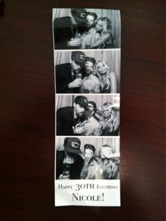 Yes, this actually happened. ;0)- Nicole Richie's Photo Booth