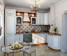 Pictures of Kitchens - Traditional - White Kitchen Cabinets (Page White Kitchen Backsplash, White Kitchen Decor, White Kitchen Cabinets, White Kitchens, Small Kitchens, Kitchen On A Budget, New Kitchen, Kitchen Ideas, Classic White Kitchen