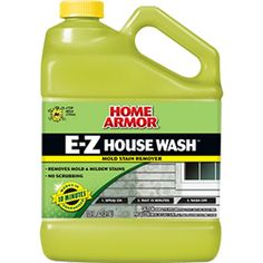 Mold Armor House Cleaner With Mildew Stain Remover (House Mildew Clnr), Silver, Jensen, aluminum (Plastic) Clean Siding, Brick Siding, Cleaning Mold, Roof Cleaning, Cleaning Hacks, Cleaning Products, Damp Rid, Cleaning Vinyl Siding, Mold And Mildew Remover