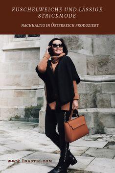 #Strickmode #Herbstmode #Ü50Mode #over50style #Modeberatung #Stilberatung #MadeinAustria Personal Style, Sweaters, Dresses, Blog, Fashion, Fashion Advice, Women's Fashion, Breien, Moda