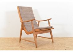 Swiss Wooden Easy Chair by Jakob Müller for Wohnhilfe - Seating - Furniture - PAMONO