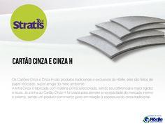 Papel Cartão Cinza e Cinza Hörlle - Já cortado em formatos A3 e A4. Diversas espessuras!