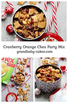 This Cranberry Orange Chex Party Mix is the ultimate holiday snack perfect for all your winter entertaining! Flavored with fresh orange zest, cinnamon, rich butter and dried cranberries, you won't get able to resist eating this all season long.