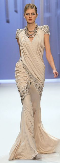 Basil Soda Haute Couture..luv the draping / Spring/Summer 2010