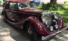 #Jaguar MK IV Drophead Coupé 1948. https://www.arcar.org/jaguar-mk-iv-drophead-coupe-88568