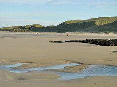 Beach walking in Machir Bay, Isle of Islay