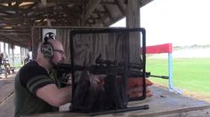 Shot Both AR-15 & AR-10 With The New Leupold Scopes At 100 Yards Today L...