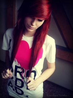Beautiful #red #hairstyle Please Visit My Tumblr Page....I Follow Back All Follows http://www.staged.com/i/TWprMA/Spzkaz