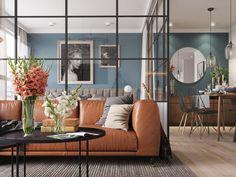 Bright and Trendy Mid Century Modern Bedroom Decor Ideas #MidCenturyModernDesign