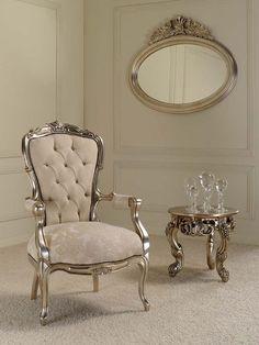Italian Furniture, Alberto arm chair, made of mahogany Silver Furniture, Victorian Furniture, Italian Furniture, Deco Furniture, Unique Furniture, Sofa Furniture, Luxury Furniture, Painted Furniture, Furniture Design