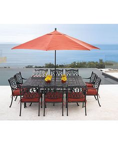 Villa Outdoor Patio Furniture Dining Sets Pieces Macy S