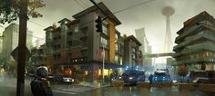 Concept Art Infamous Second Son / PlayStation 4  #InfamousSecondSon #Infamous  #games #fantasy #ScienceFiction #DelsinRowe #SuckerPunchProductions #SuckerPunch  #Sony #PlayStation4 #PS4Pro