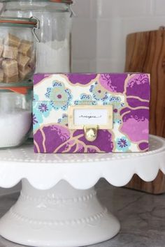 DIY Tutorial: Decoupage Recipe Box
