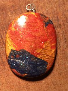 Clay Art, Christmas Bulbs, Pendants, Holiday Decor, Handmade, Hand Made, Christmas Light Bulbs, Hang Tags, Pendant