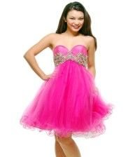 Pink Colored Prom Dress