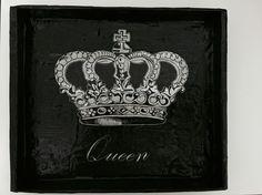 Cuadrito; queen - Soli Savoretti