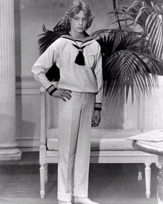 Björn Andresen as Tadzio in Visconti's adaptation of Death in Venice by Thomas Mann