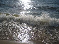 Wellen am Strand bei Westerland auf Sylt  http://fc-foto.de/35248715