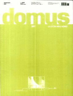 Domus Nº 981 (mayo 2014) http://encore.fama.us.es/iii/encore/record/C__Rb1250956?lang=spi