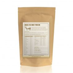 Grass Fed Whey Protein Isolate - Madagascan Vanilla
