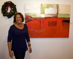 Solo art exhibit in North Park neighborhood of San Diego, California during the holidays   Danielle Nelisse @ Ray at Night