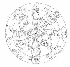 mandalas de cuentos tradicionales - Buscar con Google