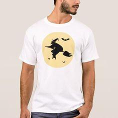 Flight of sorceress T-Shirt #halloween #holiday #creepyclothing #fashion #mensclothing
