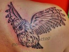 Bildergebnis für eule tattoo unterarm