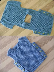 Diy Crafts - -Free Knitting Pattern for Chunky Cat Jacket Long-sleeved cardigan with shawl collar and kittens on the front and b Baby Boy Knitting, Knitting For Kids, Easy Knitting, Baby Knitting Patterns, Knitting Stitches, Baby Patterns, Start Knitting, Baby Knits, Diy Crafts Knitting