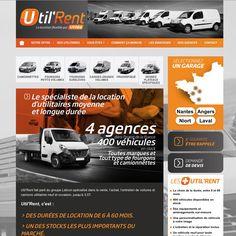 Site web d'Util'Rent. http://www.utilrent.fr