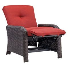 Hanover Strathmere Outdoor Reclining Lounge Chair   STRATHREC