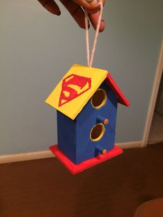 Superman Bird House Walk Now for Autism Speaks is an inspirational and impactful opportunity to raise money and awareness to help change the future for all those who struggle with autism. Participating in Walk Now for Autism Speaks empowers you to make a difference and provides you with an opportunity to honor someone with autism. I'm painting birdhouses to sell at our light it up for liv bake sale. Please like our facebook page @ https://www.facebook.com/lightitupforliv