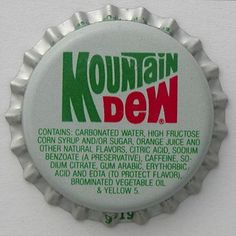 Mountain Dew Will Shrink Your Testicles. Researchers at the University of Rochester have released their findings on the effects of Mountain Dew and yellow dye # Yellow Vegetables, Carbonated Soft Drinks, Nutrition For Runners, Hormone Replacement Therapy, Gum Arabic, Regenerative Medicine, Nutrition Articles, Citric Acid, Mountain Dew