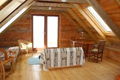 The Jam House, Leob Croft, Isle of Mull. Made entirely of timber, this accommodation has one of the best views on Mull http://www.organicholidays.com/at/3098.htm