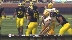The LSU Tigers VS The Michigan Wolverines In A NCAA Football 10 Football Match This video showcases Gameplay of The LSU Tigers VS The Michigan Wolverines In A NCAA Football 10 Football Match