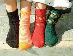 Dobby Socks by knitsmith,