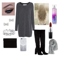 """""""Untitled #147"""" by yepers on Polyvore featuring Fine Collection, Anouki, MAC Cosmetics, Marc by Marc Jacobs and Calypso St. Barth"""