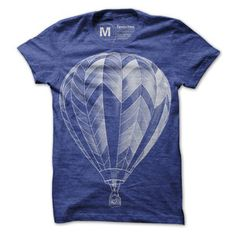 Balloon Tee Blue now featured on Fab.