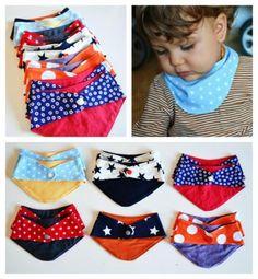 Pañuelos para niños Bikini Swimwear, Bikinis, Textiles, Sewing, Baby, Ideas, Fashion, Sewing For Kids, Tela