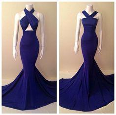 Resultado de imagem para royal blue prom dresses