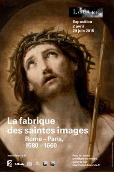 La Fabrique des Saintes images au Musée du Louvre. Affiche