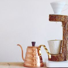 Coffee Pour Over Stand, Coffee Stands, Coffee Dripper, V60 Coffee, Brew Stand, Brew Bar, Coffee Holder, Brewing Equipment, Copper Kitchen